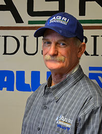 Jerry Decker, Service Manager, Agri Industries